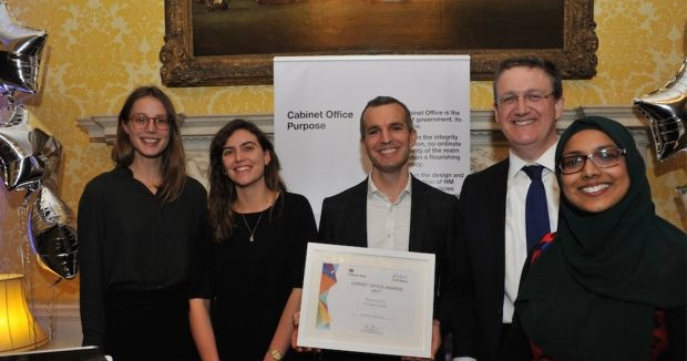 Cabinet Office Open Innovation Award Cropped