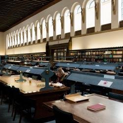 Image of inside Cambridge University Library
